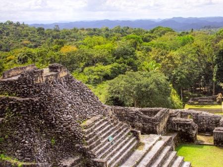 Entre pyramides, art Maya et végétation…