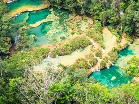 Semuc Champey et ses piscines naturelles