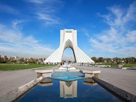 Arrivée à Téhéran