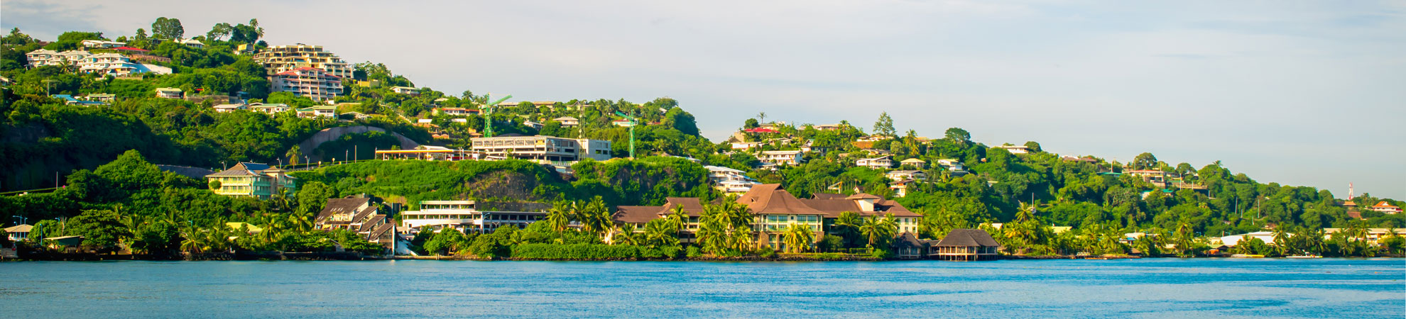 Les villes de Polynésie