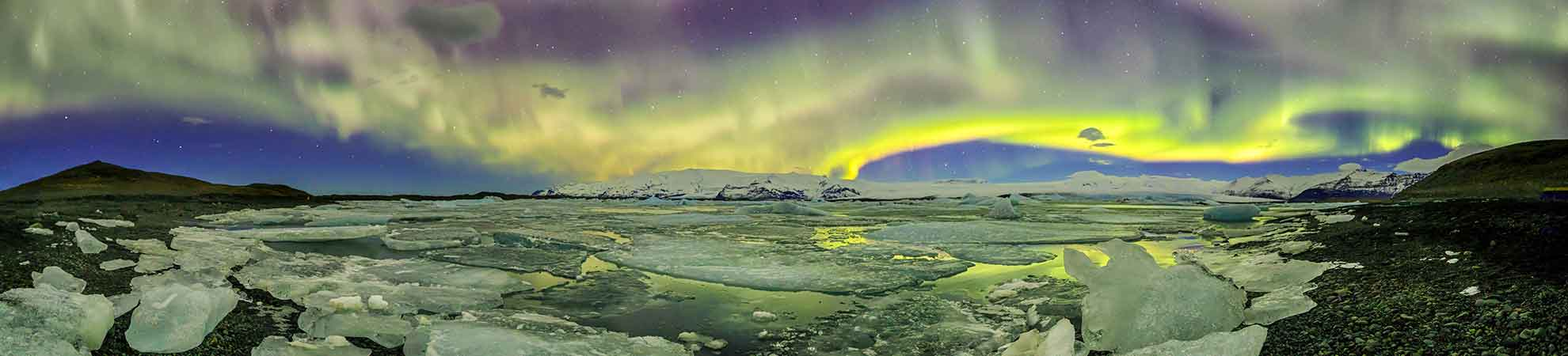 Voyage islande aurore boréale