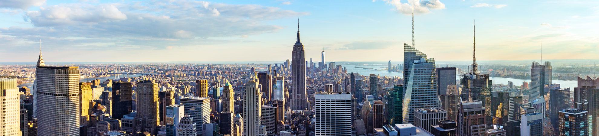 Voyage organisé à new york pour un séjour en hotel tout compris